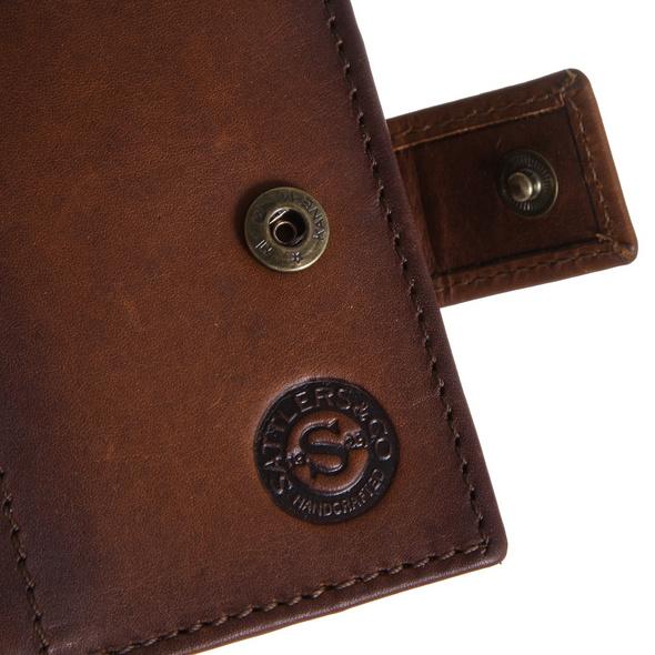 Sattlers & Co. Kreditkartenetui The Stamper 2 brown hunter