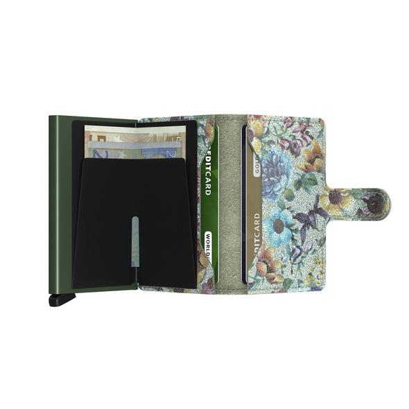 Secrid Kreditkartenetui Miniwallet Crisple pistaccio floral