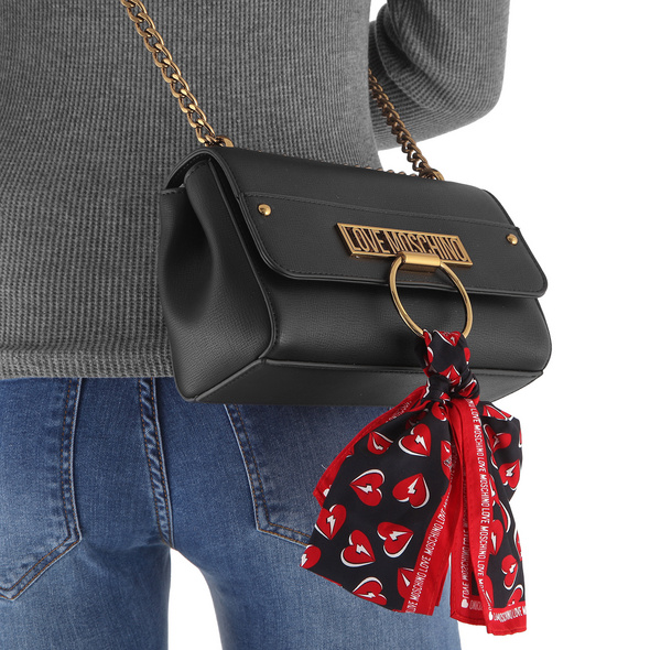 Love Moschino Abendtasche JC4236 schwarz