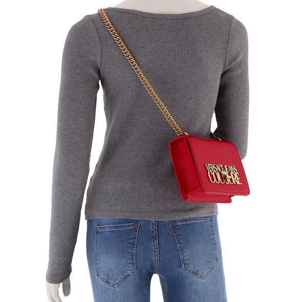 Versace Jeans Couture Umhängetasche Range L Logo Lock Sketch nero