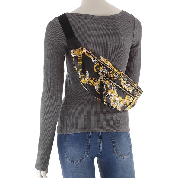Versace Jeans Couture Bauchtasche Linea F DIS 9 printed saffiano