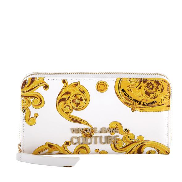 Versace Jeans Couture Langbörse Damen Linea U DIS 7 weiß barock print