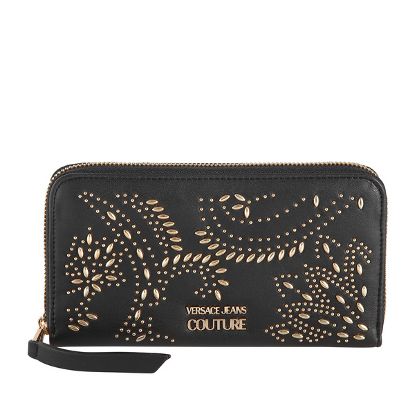 Versace Jeans Couture Langbörse Damen Linea B DIS 12 schwarz