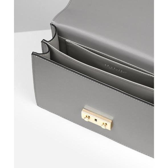 Seidenfelt Manufaktur Umhängetasche Mons mid grey