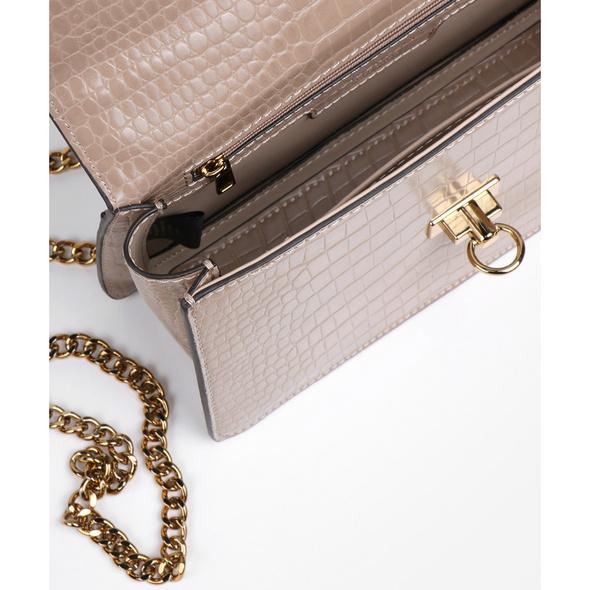 Seidenfelt Manufaktur Abendtasche Nora beige