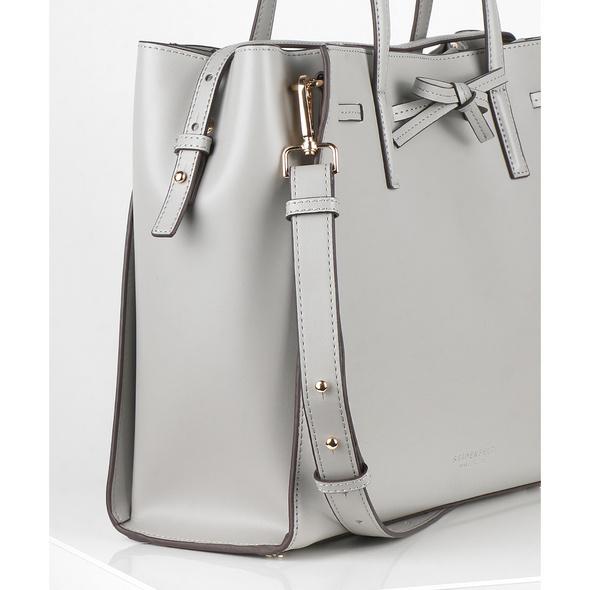 Seidenfelt Manufaktur Shopper Tonder mid grey