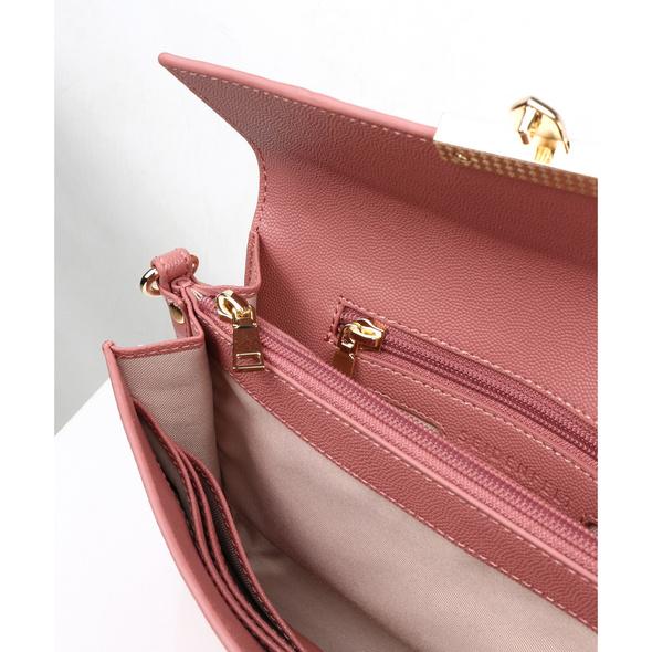 Seidenfelt Manufaktur Clutch Roros blush