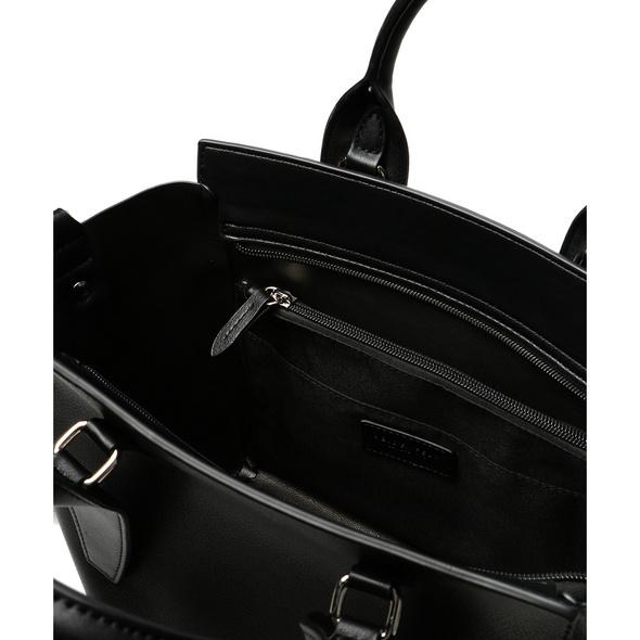 Seidenfelt Manufaktur Kurzgrifftasche Lulea schwarz