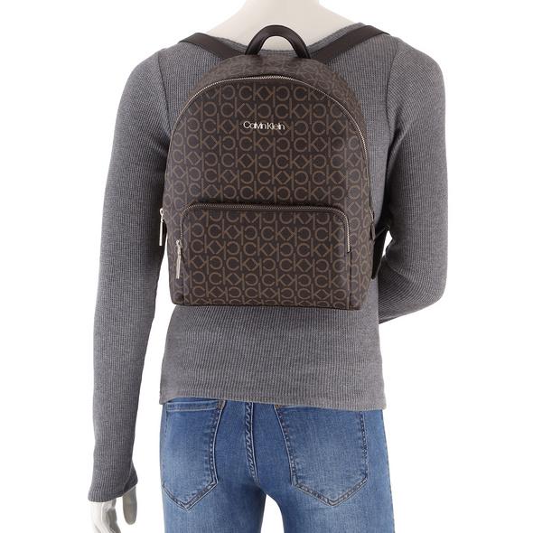 Calvin Klein Damenrucksack CK Must Campus BP W/PCKT MD black mono