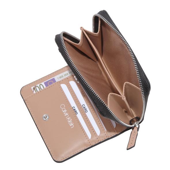 Calvin Klein Hochkantbörse Damen TGW Z/A Wallet W/ Flap MD dusty rose