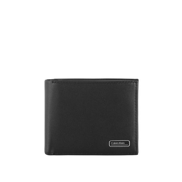 Calvin Klein Querbörse Herren Bifold 5CC W/Coin black