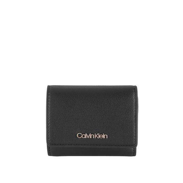 Calvin Klein Hochkantbörse Damen TGW Trifold XS black