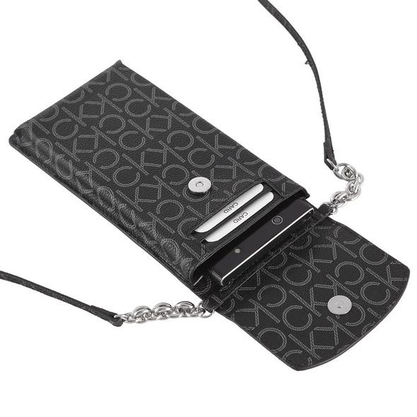 Calvin Klein Umhängetasche Phone Pouch XBody Monogram black