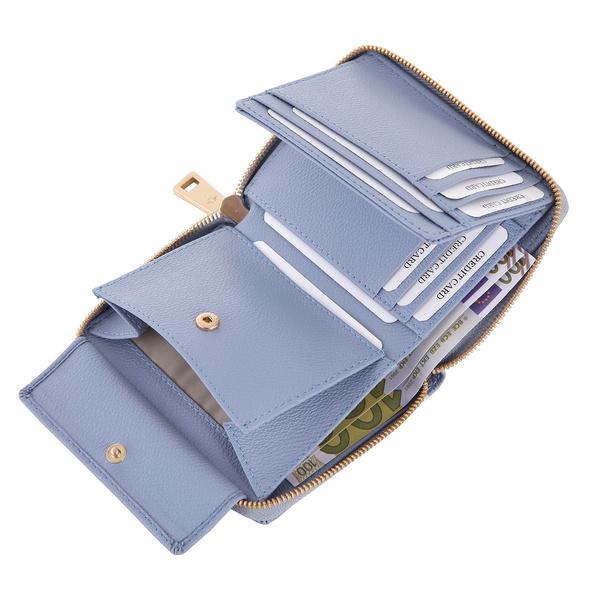 Joop Hochkantbörse Damen Cortina Nisa Purse MH8Z petrol