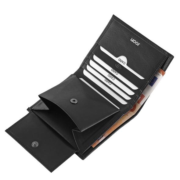 Joop Hochkantbörse Herren Novara Daphnis Billfold V6 black