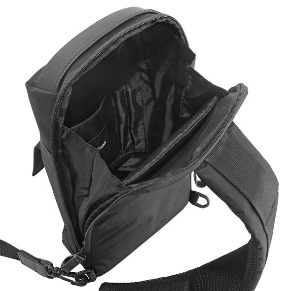 Strellson Umhängetasche Swiss Cross Slingbag MVZ black