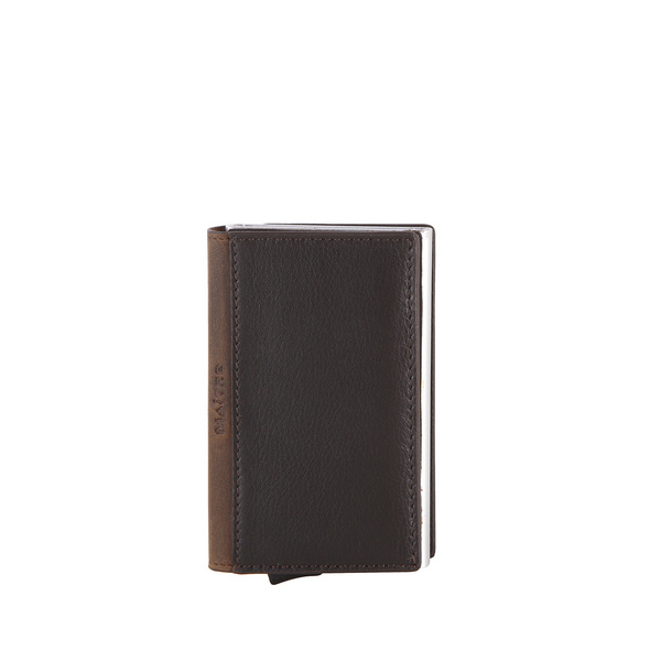 Maître Kreditkartenetui Bundenbach c-one e-cage dark brown