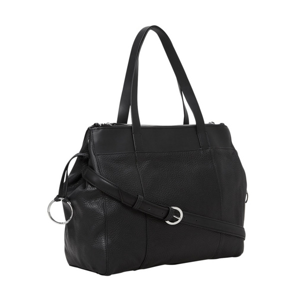 Liebeskind Berlin Shopper Venus Heavy Pebble Split L schwarz