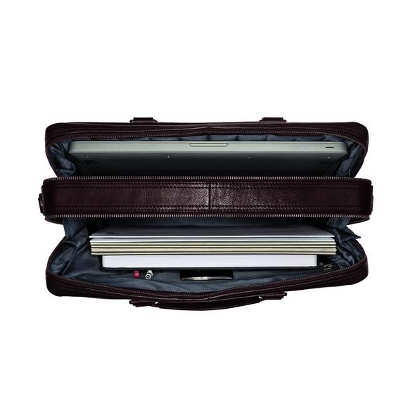 Leonhard Heyden Laptoptasche Roma 5369 braun