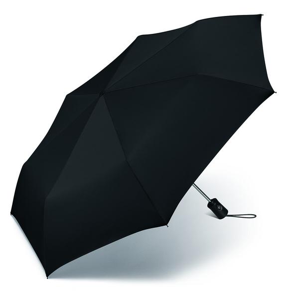 Happy Rain Taschenschirm Essentials Up&Down schwarz