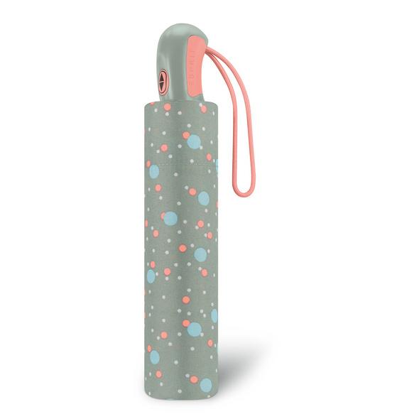 Esprit Taschenschirm Easymatic Light bouncing dot slate gray