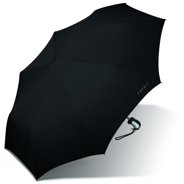 Esprit Taschenschirm Easymatic FRP schwarz