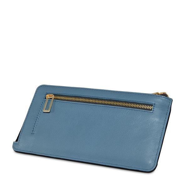 Bree Reißverschlussbörse Damen Privy 148 provencial blue
