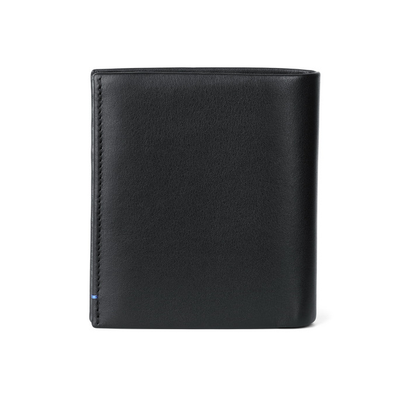 Bree Hochkantbörse Pocket Smooth 113 schwarz