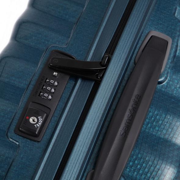 Samsonite Reisetrolley Lite-Shock 55cm petrol blue