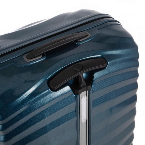 Samsonite Reisetrolley Lite-Shock 69cm petrol blue