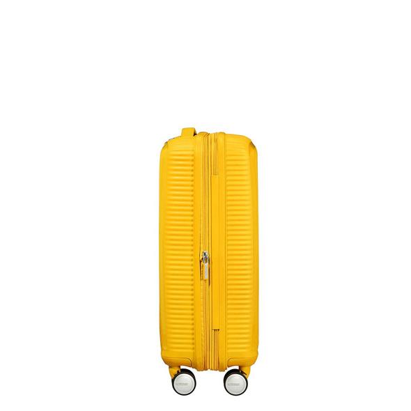 American Tourister Reisetrolley Soundbox 55cm golden yellow