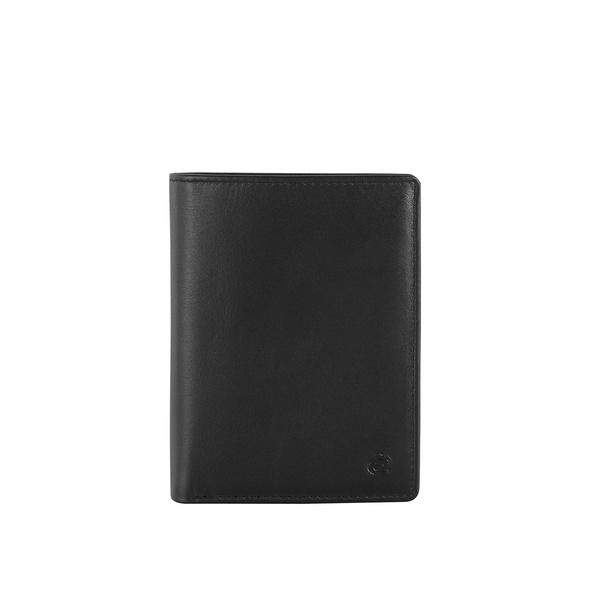 Esquire Hochkantbörse Herren Compact schwarz