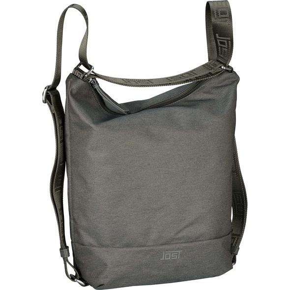 Jost Damenrucksack Bergen 3-Way Bag taupe