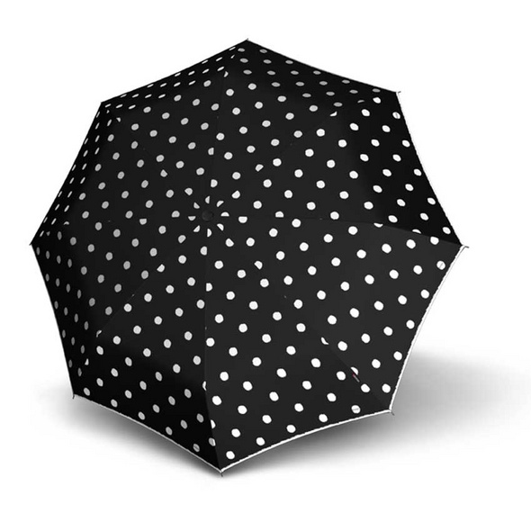 Knirps Taschenschirm T.010 Manual Dot Art schwarz