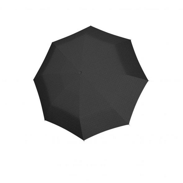 doppler Taschenschirm RS.Da.Magic Carbonsteel uni 56/8tlg schwarz/grau gemustert