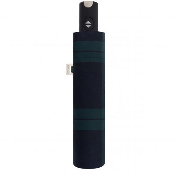 doppler Taschenschirm RS.Da.Magic Carbonsteel uni 56/8tlg karo blau/grün
