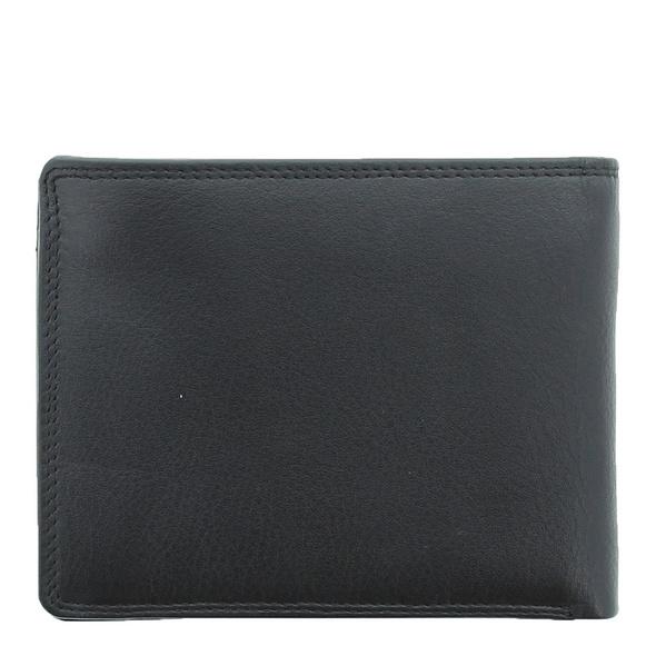 Braun Büffel Geldbörse Golf 2.0 8iCS schwarz