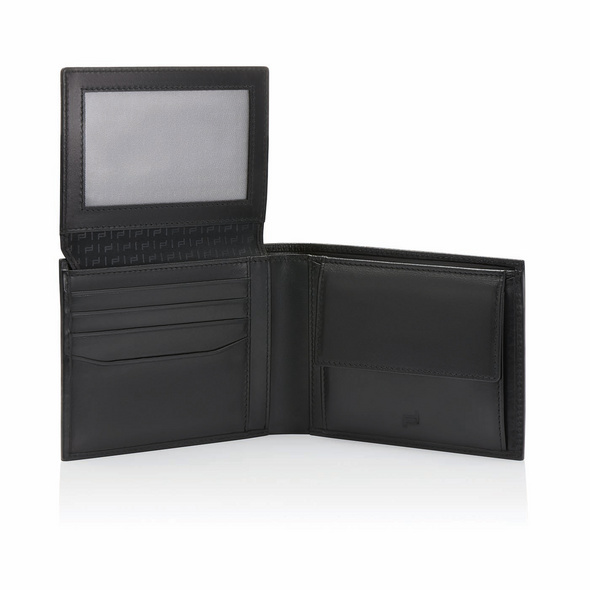 Porsche Design Querbörse Herren SLG Classic Wallet 7 schwarz