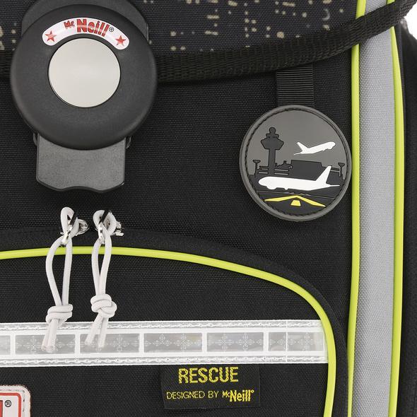 McNeill Schulranzen Set 4-tlg. Ergo Explorer Rescue