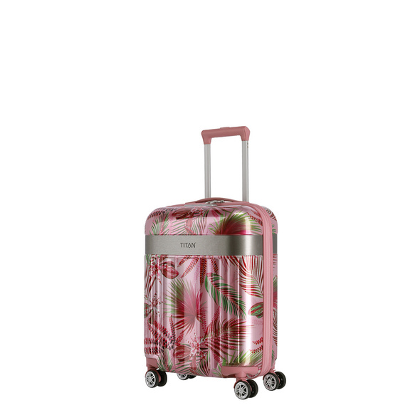 Titan Reisetrolley 55cm Spotlight Flash 4w S pink hawaii