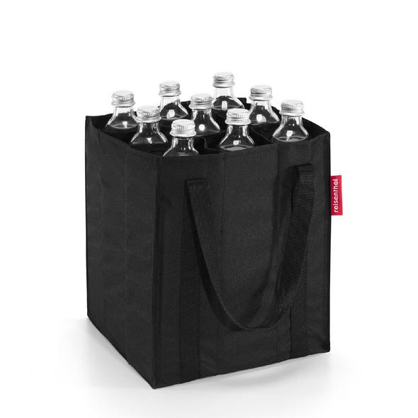 reisenthel Flaschenträger bottlebag schwarz
