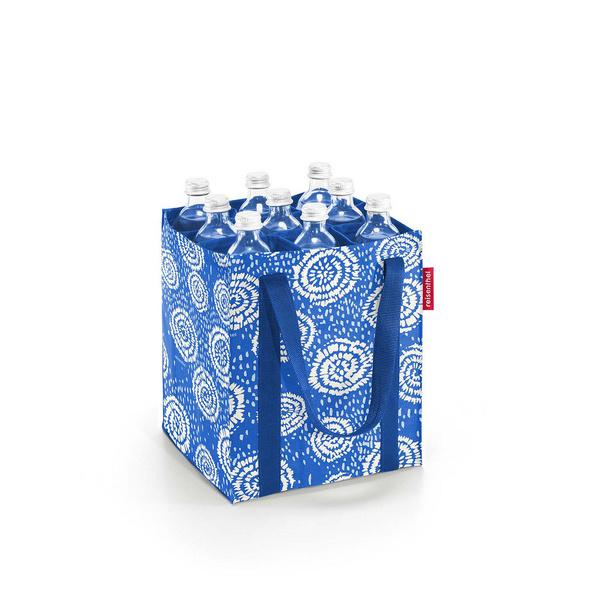 reisenthel Flaschenträger bottlebag batik strong blue