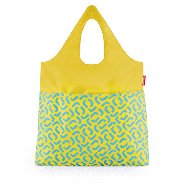 reisenthel Faltbeutel mini maxi shopper plus signature lemon