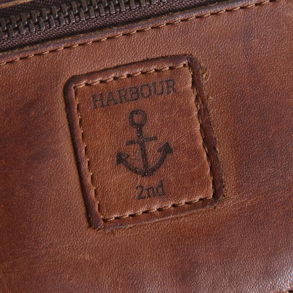 Harbour 2nd Hochkantbörse Damen Linn sand metallic
