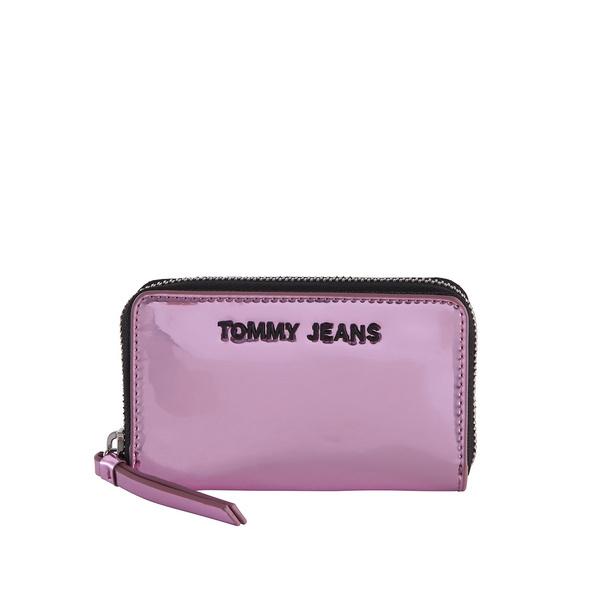 Tommy Jeans Querbörse Damen TJW ZA Wallet Metallic rose gold