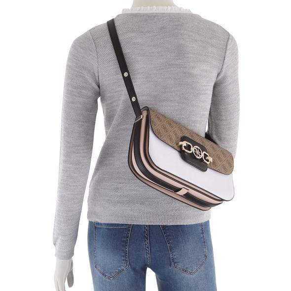 Guess Umhängetasche Hensely Convertible Shoulder Bag white