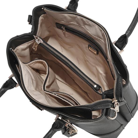 Guess Kurzgriff Tasche Cordelia Luxury Satchel natural multi