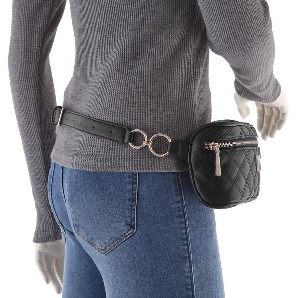 Guess Bauchtasche Cessily Mini Belt Bag black