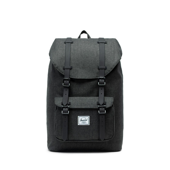 Herschel Rucksack 'Little America' Mid-Volume 17l black crosshatch