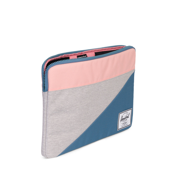"Herschel Laptophülle Anchor 15"" lightgrey crossh"